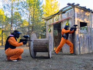 Campo de paintball en Cuenca