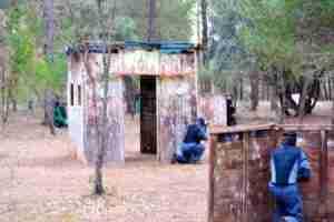 Instalaciones de Actijucar Multiaventura en Villalba de la Sierra. 5